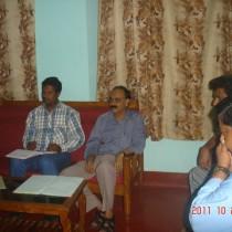 Unit meeting October 2011