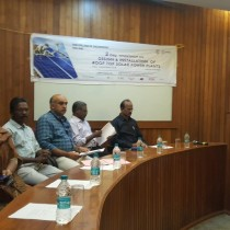 Two days workshop on Design and Installation of Roof top Solar Power Plants  on 6-7 Dec 2018 TKMCE, Kollam