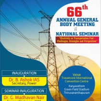 National Seminar  2019 , 66th AGB  and-ELECTROTECH-2019-Electro -Technical Exhibition-Dr B.Ashok IAS, Dr G. Madhvan Nair, Sri N.S Pillai IA &AS  etc participating